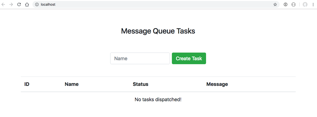Sending Laravel Task Messages to a Python Celery Worker